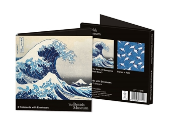 Brisith Museum, Japanese Woodblock Prints - Square Notecard Wallet notecards and stationery