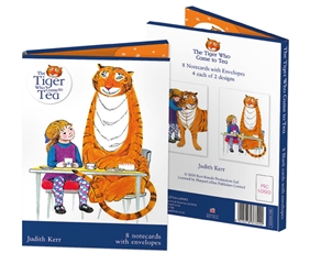 1 EA NCW TIGER TEA      *M&G notecards and stationery