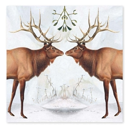American Elk - Christmas Cello Pack Christmas