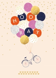 Balloons - Birthday Card