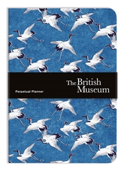 British Museum Cranes in Flight - A5 Perpetual Planner Diary calendars and planners