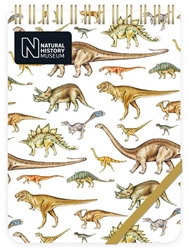 Natural History Museum Dinosaurs - Reporter Pad