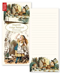 British Library Alice in Wonderland - Magnetic To-Do Pad