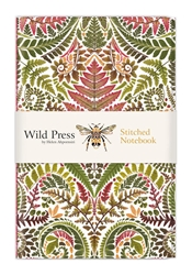 Wild Press Pteridomania - Stitched Notebooks journals and notebooks