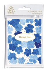 Dee Hardwicke - Blue Hydrangea Social Stationery notecards and stationery