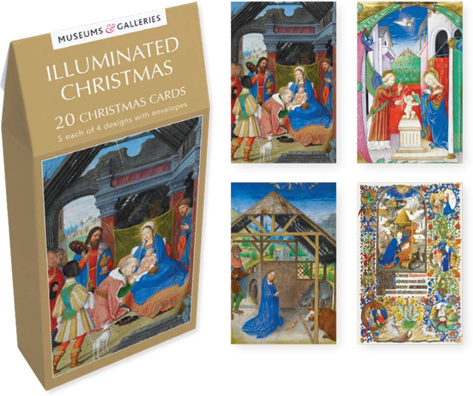 Museum Christmas Cards 2020 Museums & Galleries   Illuminated Christmas   Christmas Boxed