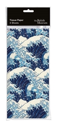 Hokusai Wave - Tissue Paper gift wrappings
