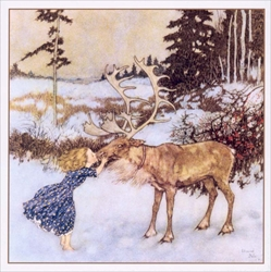 Gerda and the Reindeer - Cello Packs Christmas