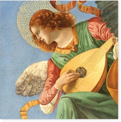 An Angel Playing the Lute - Christmas Cello Pack Christmas