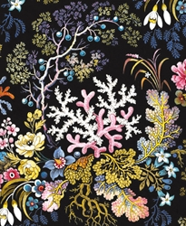 Textile Design by William Kilburn - Blank Card