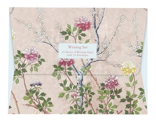 Chinese Blossom - Writing Set notecards and stationery