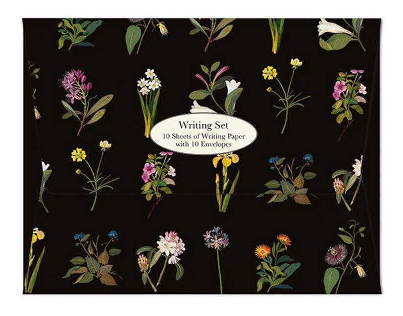 Writing Set - British Museum - Delany Flowers notecards and stationery