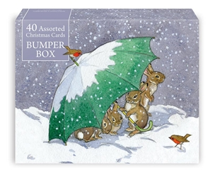 40 Card Assortment - Christmas Boxed Cards Christmas