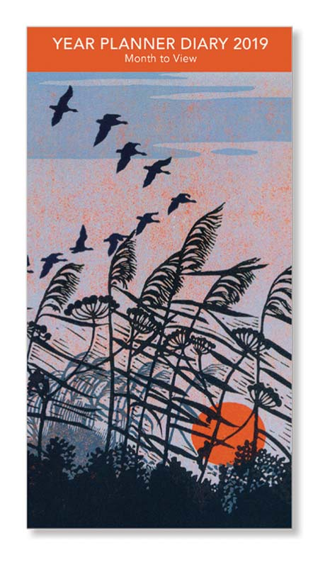 Robert Gillmor Sunset Flight 2019 Year Planner