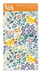 V&A Spring Flowers - 2020 Year Planner