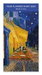 Vincent Van Gogh Cafe-terrace at Night - 2020 Year Planner