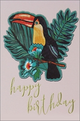 Toucan - Birthday Card