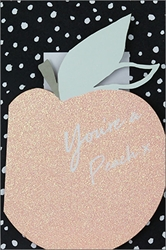 Youre a Peach - Friendship Card