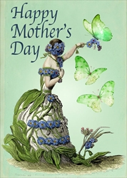 Cup / Butterflies - Mothers Day Card