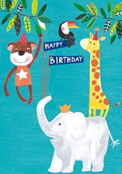 Animals - Birthday Card
