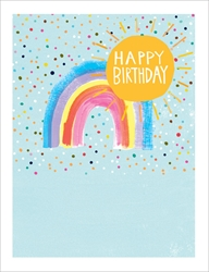 Rainbow - Birthday Card Birthday