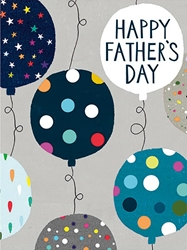 Balloons - Fathers Day Card