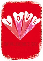 Love Hearts - Valentines Day Card
