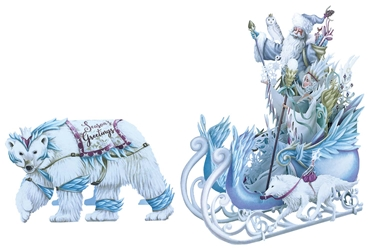 3D Ice Queen - Christmas Card Christmas