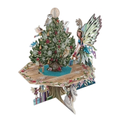 3D Fairy Table - Christmas Card Christmas