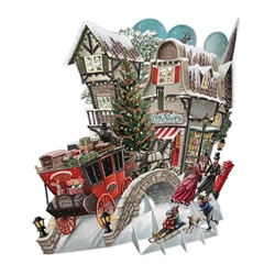 3D What the Dickens! - Christmas Card Christmas