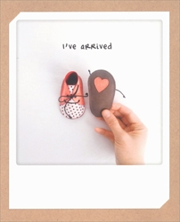 Girl Ive Arrived - Baby Card