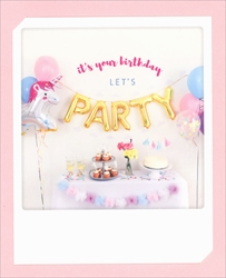 Party - Birthday Card