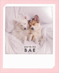 Youre My BAE - Love Card