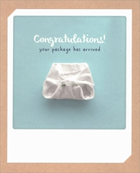 Boy Arrived - Baby Card