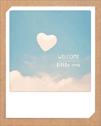 Welcome Little One - Baby Card Baby
