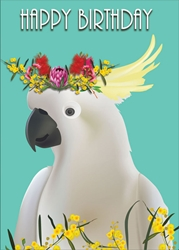 Cockatoo - Birthday Card Birthday