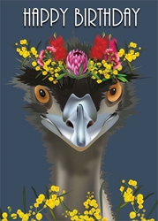 Emu - Birthday Card Birthday