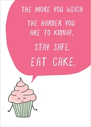 Eat Cake - Friendship Card