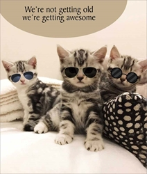 Get Awesome - Birthday Card