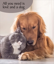 Love & Dog - Friendship Card