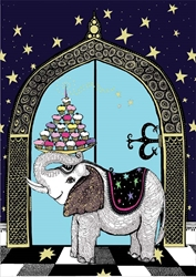 Elephant - Birthday Card