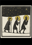 Three Wise Men - Christmas Card Christmas