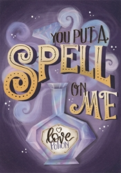 Spell On Me - Love Card