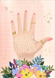 High Five - Friendship Card