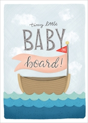 Baby on Board - Baby Card