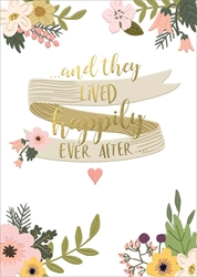 Ever After - Wedding Card