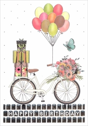 Bicycle - Birthay Card