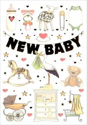 Toys - Baby Card