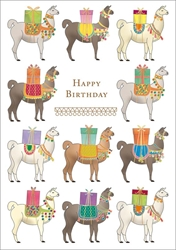 Alpaca - Birthday Card