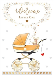 Baby Carriage - Baby Card